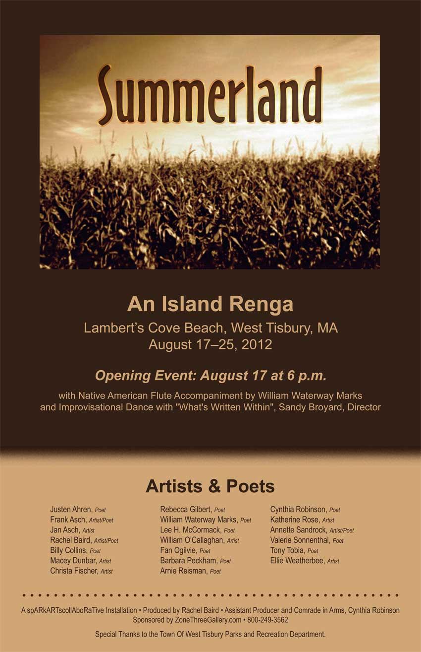 Summerland, an Island Renga
